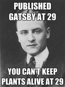 Fitzgerald is judging you.